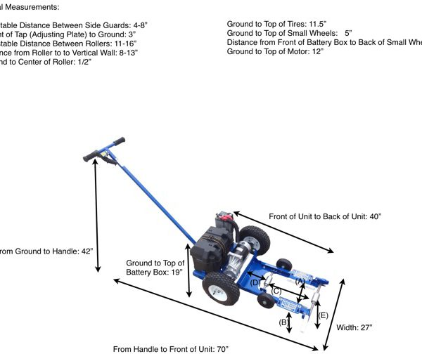 Nose-Dragger DRAGGER® – Electric with Differential Dimensions