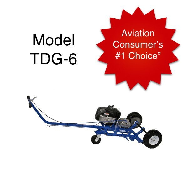 DRAGGER™ - Motorized airplane tugs, Nose Dragger, Nose pushers, Nose